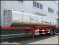 Lmt9200glb d'asphalte. réservoir de transport, pierres- remorque, remorque de camion