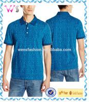 Mens eco-friendly dressing office korean fashion polo shirt