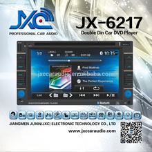 6.95 inch Universal Car DVD with DVD/VCD/CD/SD/USB/IPOD/TV/GPS/BT/AVIN/Radio JX-6217