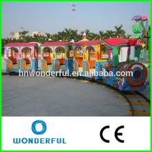 fun outdoor fairground adult rides train set small amusement park trains electric mini train set for sale