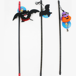 Halloween Dangler Toys with bat and other shape Toys with Plastic Pole