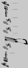 door locking gear,container lock,truck body lock in china