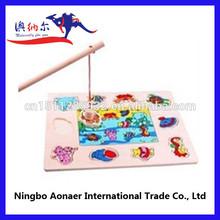 giochi di puzzle di legno puzzle tappeto puzzle si combinano con pesca giocattolo compensato materiale