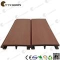 Wood plastic composite fachada painel