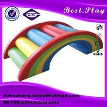 Kids Soft Play Rainbow Bridge for Indoor Play