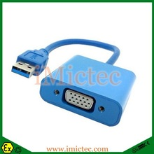 USB3.0 A Male to VGA usb 3.0 to vga high definition Video convert adapter