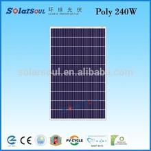 240w solar cell price per watt solar panels export goods