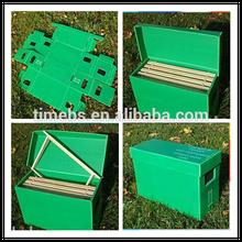 Plástico Bee hives, Corrugado Bee hive, Caja de plástico para abeja