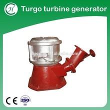 Turgo turbine free energy generator