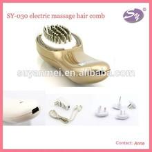magic plastic electric hair straightening growth comb
