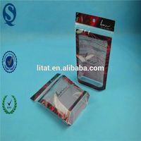promotional facial mask sheet plastic bag