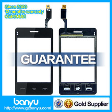No dead pixel original touch digitizer for lg t375 lcd display screen