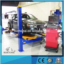 wheel alignment 3D four post car lift