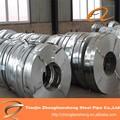 Traitement galvanisé galvanisé à chaud feuille/immersion à chaud plaque de zinc aluminium/120mm en bobines en acier galvanisé largeur