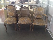 old style fabric dining chair,dinner fabric dining chair,vintage fabric dining chairRQ21391