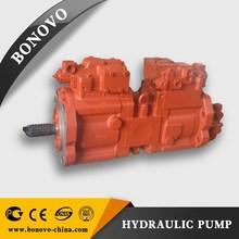pelle pompe hydraulique dans la réparation