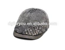 Customize dark denim cheap military beret fashio basque beret for men