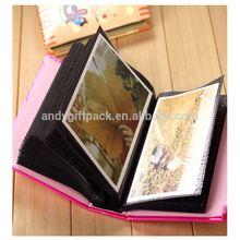 a4 size and wood box photo album black sheet photo album
