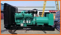 open type diesel gensets by cummins power