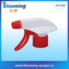 Small adjustable nozzle trigger chemical sprayer for high quality plastic squeeze bottles