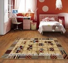 Animal Pattern Kids Bedroom Rugs