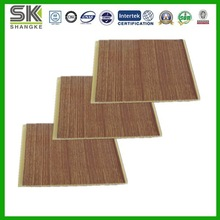 New Product PVC Ceiling Tiles in Wooden Color