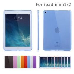 Matte phone case for ipad mini case, semi-transparent protective phone case for ipad mini