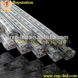 Aluminum profile led strip light, led rigid strip full color ws2812b led rigid bar