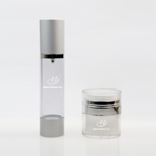 HAIJING manufacturers wholesale plastic bottle with airless pump for skin care and cosmetics