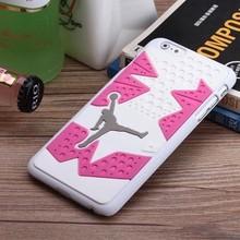 Air Jordan 6 Raptor Rubber 3D Sneaker Sole Phone Case For iPhone 6 plus