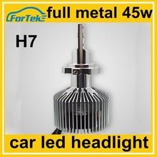 adjustable beam high lumen 45w h7 led headlight 4500lm 360 angel