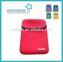 neoprene tablet sleeve; promotional neoprene ipad case; customized laptop bag