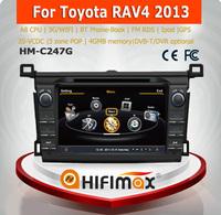 Hifimax car multimedia system for toyota rav4 manual car dvd player car dvd gps for toyota rav4 2013 2014 left hand drive