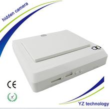2014 cheap Mini wall Switch Hidden Security Camera, Hd 808 Camera wall clock Hidden Camera YZ020
