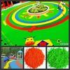 athletic track surface, playground rubber , gym. epdm spray granule EPDM granules FL-1403612