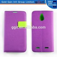Flip Cover Leather Case For ZTE Nubia Z5 Mini, For Z5 Mini Case