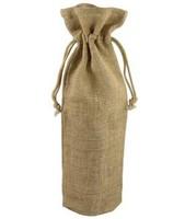 Drawstring Burlap Wine Bags Wholesale