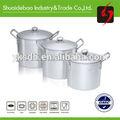 Amado del cliente, nuevo diseño de ventas en caliente de aluminio de las ollas romana