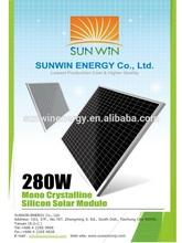 High efficiency solar power 280W solar panel