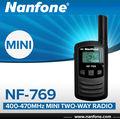 nanfone nf769 mini radio walkie talkie para los niños