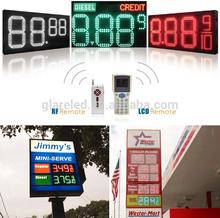 led oil/ gas/ petrol/ fuel /diesel/ regular price signs