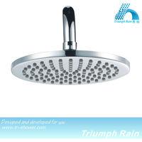JFQ010CP round brass rotating shower head