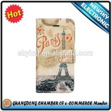 High quality flip cover minion case for samsung galaxy s4 mini i9190