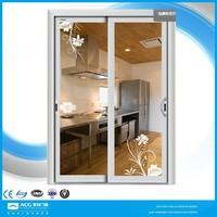 aluminium framed sliding glass door/garage sliding screen door/sliding door for living room