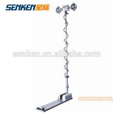 high mast tower light and telescopic mast Lighting system night scan