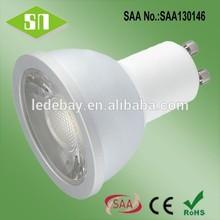 alibaba website Wholesale Cold forging aluminum 450lm 5w cri>80 dmx rgb gu10 led spotlight for Canada USA market