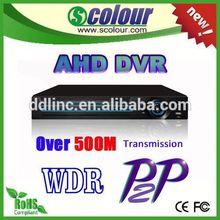 new technology 720p ahd dvr factory price cctv HD DVR ahd DVR 2015