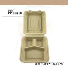 Takeaway disposable food packaging