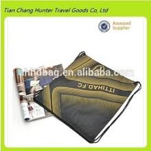 2015 hot sale high quality nylon football club drawstring bag