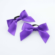 Handmade ribbon bow tie for bottle bows